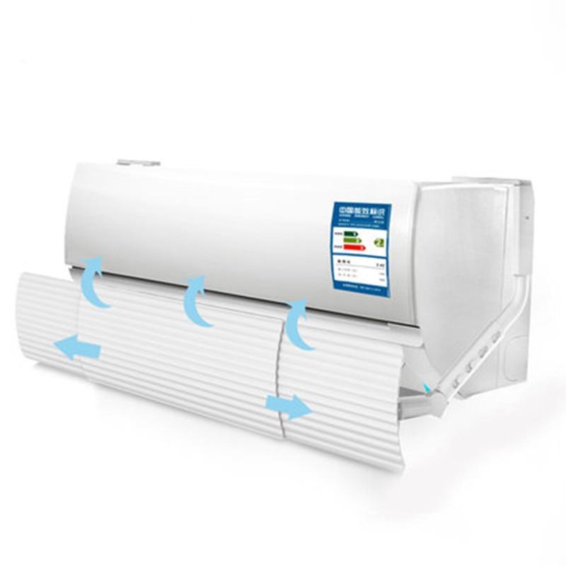 anti direct blowing retractable air conditioner wind shield exhaust fan wind deflector baffle Air Conditioner Parts