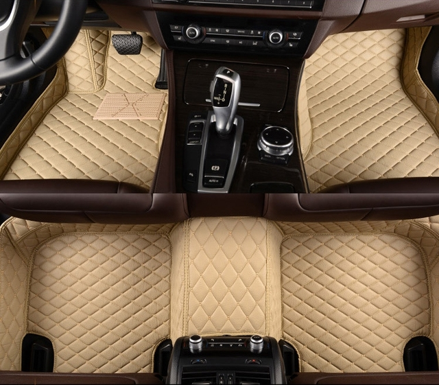 Custom Special Car Floor Mats For Jeep Renegade 2017 2016 Durable Waterproof Non Slip Rugs Carpets Free Shipping