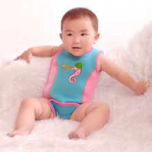 children adjust jumpsuit baby warm spring diving clothing baby boy girl swimming vest life jacket swimming pool Accessories