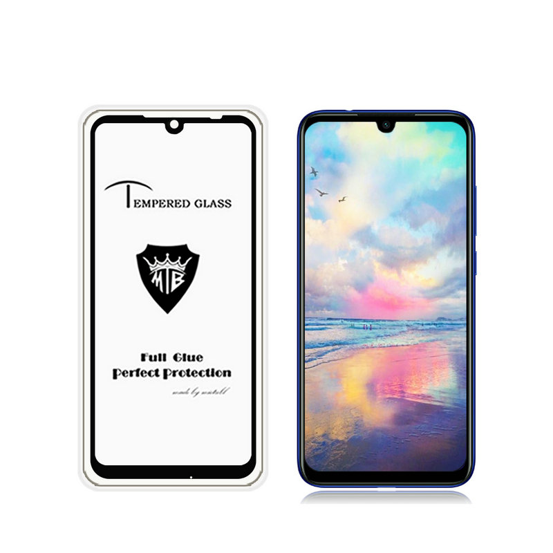 9H Full Glue Cover Tempered Glass Screen Protector for <font><b>Xiaomi</b></font> Redmi <font><b>7</b></font> Redmi7 for <font><b>Xiaomi</b></font> Redmi <font><b>Note</b></font> <font><b>7</b></font> Pro 16GB 32GB glass Film image