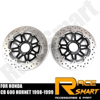 Motorcycle CNC Front Brake Disks Discs Stainless Steel Brake Rotors For HONDA CB 600 HORNET 1998 1999 CB600 HORNET CB 600