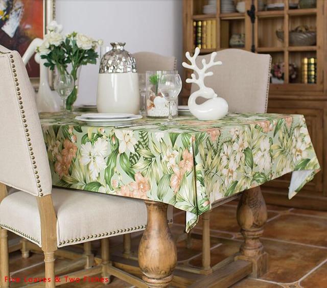 Livraison gratuite Table Tissu Floral Nappe Chemin de Table de Haute ...