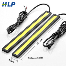 LED Car DRL Driving lamp Ultra Bright super led 5W 17cm 6000k Daytime Running light Waterproof COB Day time Lights