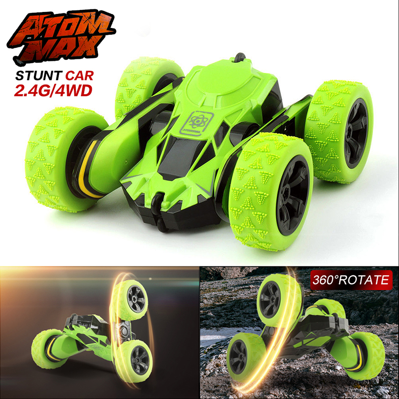 RC Car 2.4Ghz 4CH Drift RC Car 360 Degree Remote Control Car Off Road Electric Race Double Sided Toys For Children Gifts