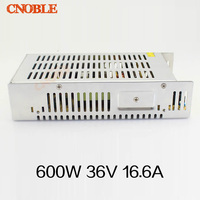 S 600 36 220V Input Aluminum Shell 600W 36V DC Power Supplies 600W 36V Switching
