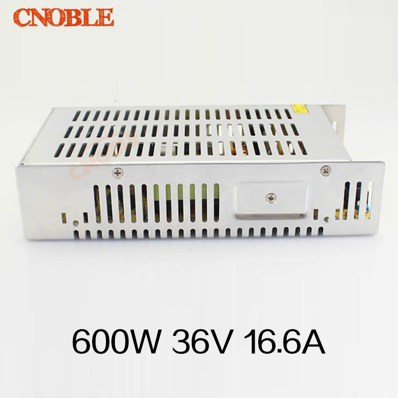 led power supply switch 600W 36v ac dc converter Input 110v or 220V S-600w 36v variable dc voltage regulator S-600-36 led power supply switch 200w 12v 16 5a power supply unit ac dc converter s 200w 12v variable dc voltage regulator s 200 12