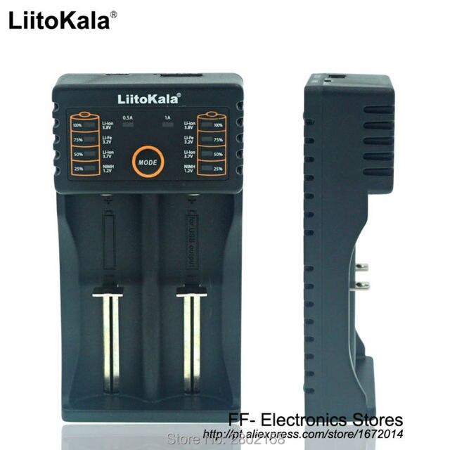Liitokala Lii-18650 202 Зарядное Устройство 1.2 3.7 3.2 3.85 А. А./AAA 26650 10440 14500 16340 25500 Литий NiMH аккумулятор smart charger