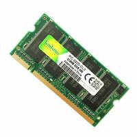 Kinlstuo memória ram SO-DIMM ddr1 ddr 400 333 mhz/PC-3200 PC-2700 200 pinos 512 mb 1 gb para sodimm notebook memoria rams novo