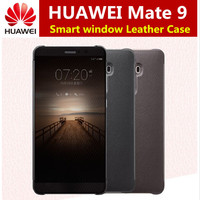 For Huawei Mate 9 Case Official Intelligent Smart View Vindow Flip Leather Cover For Huawei Mate