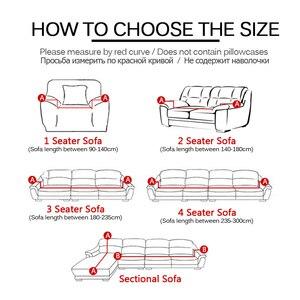 Image 2 - 24 สี Slipcover ยืดโฟร์ซีซั่นโซฟาเฟอร์นิเจอร์ Protector โพลีเอสเตอร์ Loveseat โซฟาโซฟาผ้าเช็ดตัว 1/2/ 3/4 seater