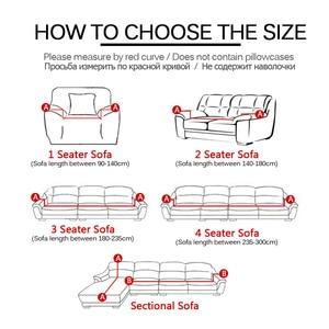 Image 2 - Fundas elásticas para sofá de 24 colores, fundas para sofá de cuatro estaciones, Fundas protectoras para sofá de poliéster, fundas para sofá, toallas para sofá de 1/2/3/4 plazas