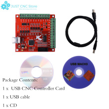 CNC USB MACH3 Breakout Board 4 Axis 100Khz Circuit board interface driver motion controller new products 4 axis usbcnc with hand controller driver board for cnc routr or diy cnc