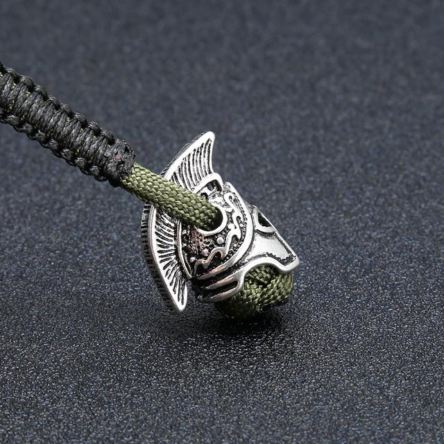 Sparta Viking Parachord Keychain