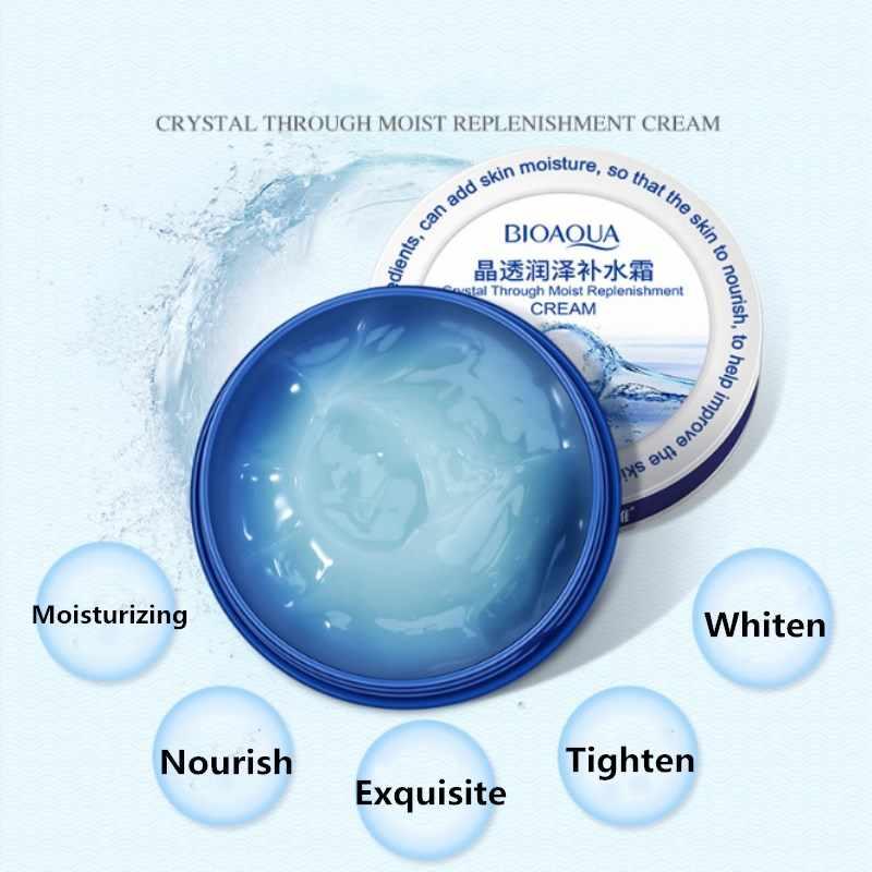 BIOAQUA Hyaluronsäure Creme Hebe Gesicht Haut Tief Moisturizin Falten-entferner Poren Anziehen Tag Creme