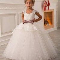 보헤미안 웨딩 드레스 소녀 이브닝 아이 흰색 흰색 드레스 소녀 드레스 14 여자 볼