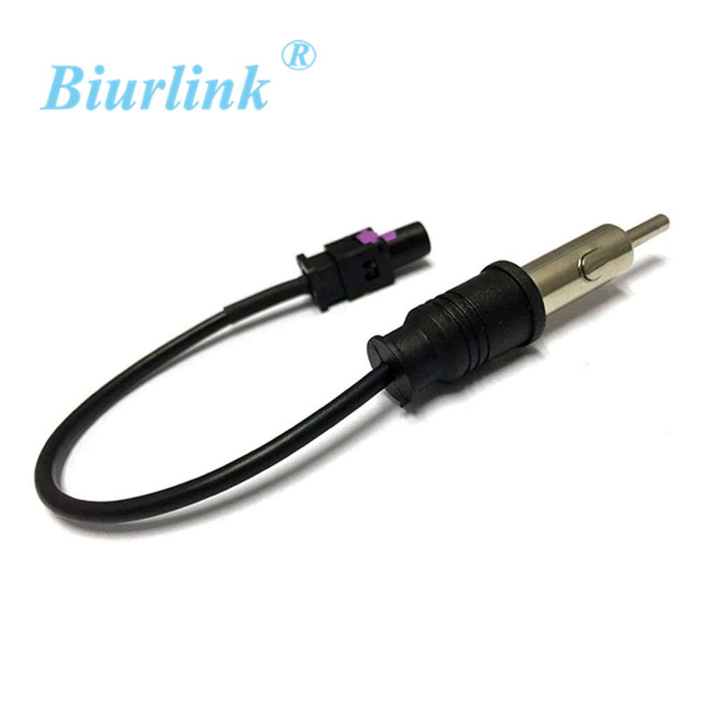 fm am radio antenna cable radio adaptor for vw golf skoda octavia bmw peugeot 307 in cables. Black Bedroom Furniture Sets. Home Design Ideas
