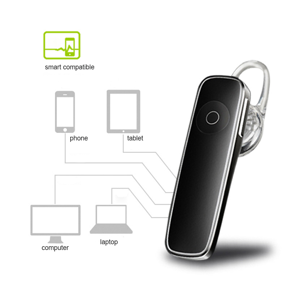 YuBeter auriculares inalámbricos auriculares Bluetooth deporte inalámbrico auriculares de reducción de ruido auriculares con el micrófono incorporado para coche manos libres