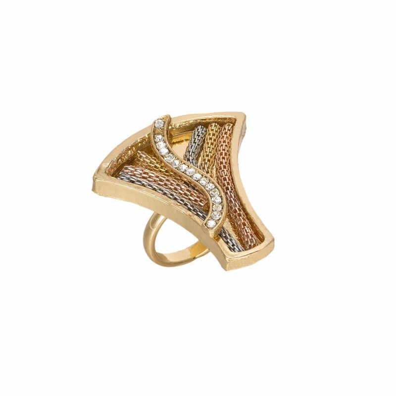 סט תכשיטים אפריקאי 2017 צבע זהב ערבית ניגרית bijoux תכשיטי חרוזים אפריקאים סט סט תכשיטי חתונה גביש חיקוי