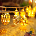 30LED Metal Fairy light with iron ball Ambiance decoration lighting for wedding/ christmas Great for Party, Bedroom Decor
