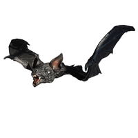 Giant Hanging Bat Halloween Props Grave Yards Scary Hunted House Halloween Decorations