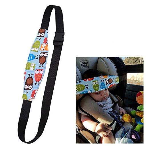 Pudcoco Infant Baby Car Seat Head Support Children Belt Fastening Belt Adjustable Playpens Sleep Positioner