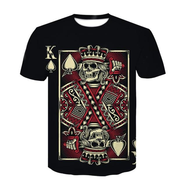 Devin Du Brand Poker T shirt Playing Cards Clothes Gambling Shirts Las  Vegas Tshirt Clothing Tops bbb619515