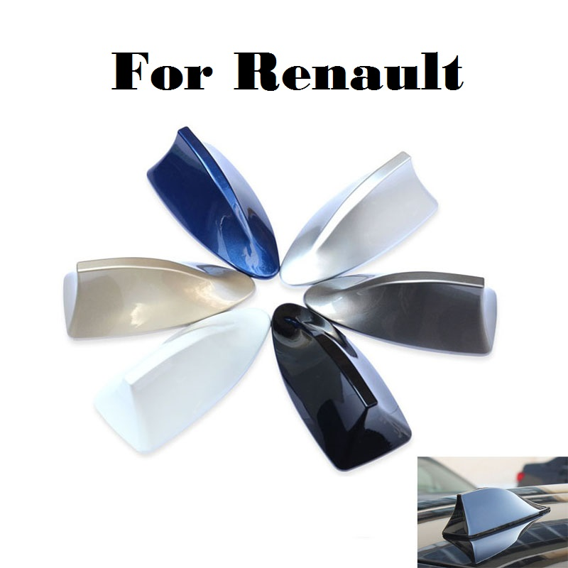 New Newest design special car shark fin antenna signal For Renault KWID Laguna Latitude Logan Megane Megane RS Safrane Sandero for renault fluence latitude talisman laguna wear resisting waterproof leather car seat covers front