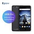 Original ulefone u008 pro mtk6737 quad core android 6.0 móvil teléfono 5.0 Pulgadas 3500 mAh Teléfono Celular 2G RAM 16G ROM Unlock Smartphone