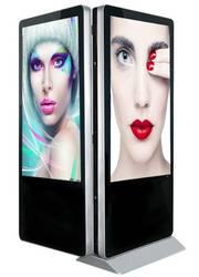 42 43 47 49 50 55 65 дюймов двойной ЖК дисплей TFT Full HD 1080p дисплей Двусторонняя сенсорный экран панель оконные рамы ОС android digital signage