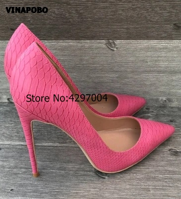 2018 Women Heeled Party Shoes Ladies High Heel Shoes Woman Wedding Shoes Shallow thin High Heels Womens Summer Snake print Shoes