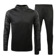 New Survetement Football 2017 Winter Kids Men Women Soccer jerseys sets Sports Training Pants Tracksuit Jackets Trousers Suits