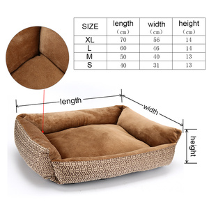 Image 3 - Bed For Dogs Bench For Puppy Mats Sofa Loungers Dog Bed for Small Dogs Pet Bed for Large Dogs Sofa Winter Pet Products XR0001