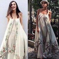 Летнее платье 2018 boho повседневное одежда для отпуска, пляжные платья милый халат longue сарафаны богемный vestidos largos де verano повседневное elbise