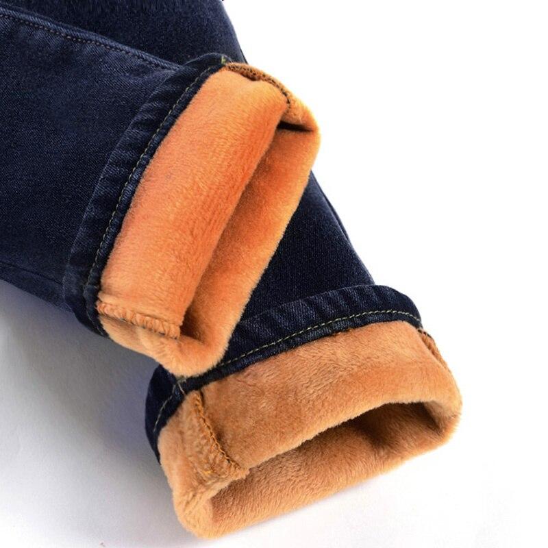 Fleece   Jeans   Woman 2019 High Waist Winter Warm   Jeans   Women Denim Pencil Pants   Jean   Femme Plus Velvet Skinny   Jeans   Trousers C1495