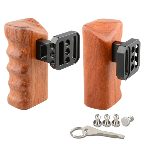 CAMVATE Wooden Handle Grips (left & right) for Panasonic GH Series C1650 camera photography accessoriesCAMVATE Wooden Handle Grips (left & right) for Panasonic GH Series C1650 camera photography accessories