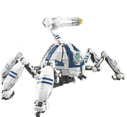 New 4123Pcs Star Sapce War Series AT-AT The Robot Electric Remote Control Building Blocks Bricks Compatible  Lepines Figure Toys the world at war на английском языке