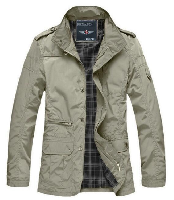 Aliexpress.com : Buy men's autumn brand jackets 2017 winter warm ...