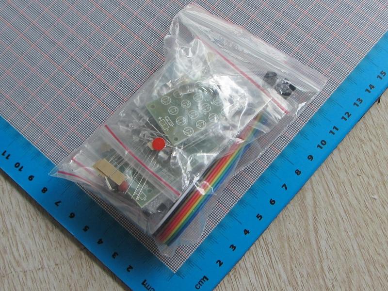 CD4017 + NE555 Flash Light Explosion-flashing LED Suite Self DIY Electronic Kit