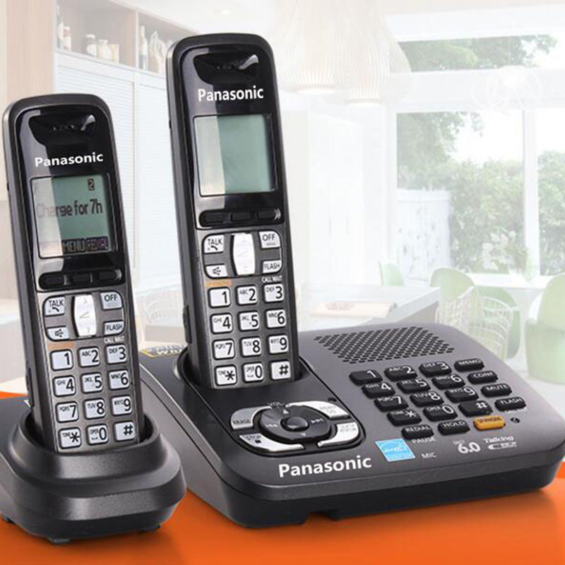 Cordless Dect Phones With Answer System Call ID Home Wireless Base Station Cordless Fixed Telephone For Office Home Black english digital cordless phone with answer systerm call id home wireless base station cordless fixed telephone for office home