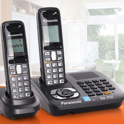 Cordless Dect Phones With Answer System Call ID Home Wireless Base Station Cordless Fixed Telephone For Office Home Black