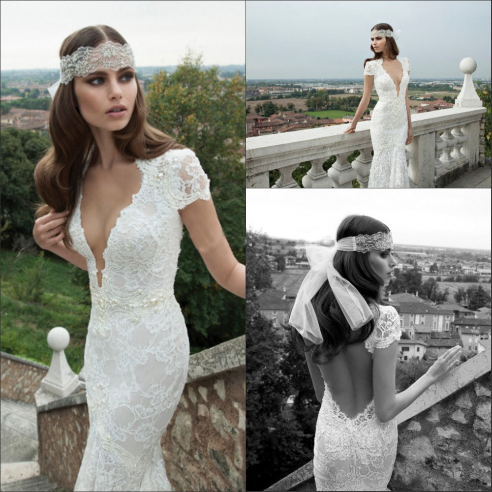 Spanish Lace Wedding Gown: 2014 Winter Spanish Backless Vestidos De Novia Lace Bridal