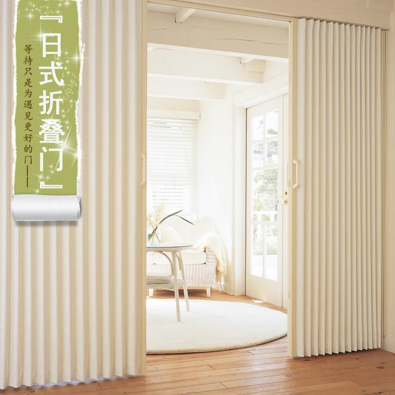 Japan Pvc According Door Foldable Sliding Door Room
