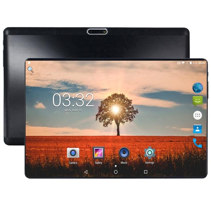 10 Polegada tablet suporte youtube octa núcleo 4 gb ram 64 gb rom 3g 4g fdd lte telefone chamada android 8.0 tablet gps wifi 1280x800 ips almofada