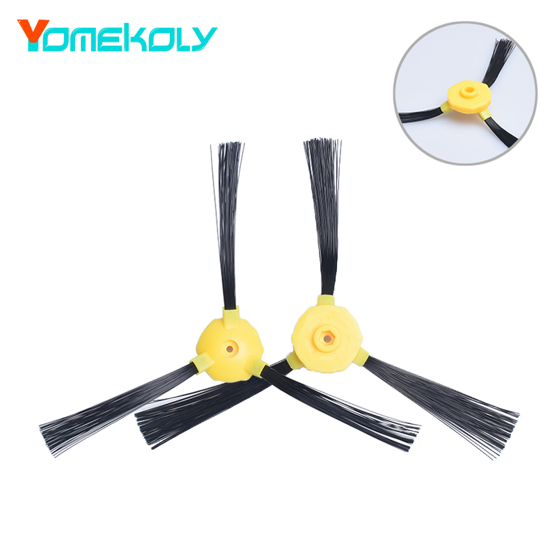 2PCS/Set Side Brush for Haier T325 T320 T321 TAB-QT300B Series Vacuum Robotic Cleaner Parts Accessories Brushes Replacement