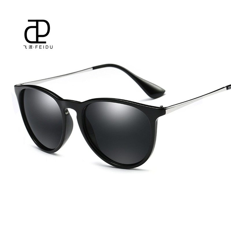 098ad07522a FEIDU 2017 New Polarized Cat Eye Sunglasses Women Brand Design Retro ...