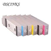 6 font b color b font 260ML PFI107 PFI 107 cartridge for Canon iPF680 iPF685 iPF770