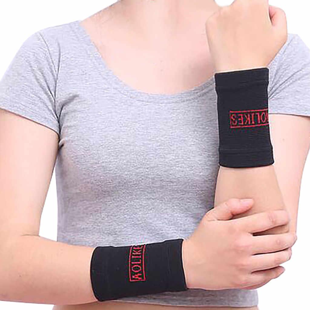 Новый спортивный браслет для бега, баскетбола, поглощающий пот дышащий браслет, Спортивная безопасность, aolikes Joint, эластичный браслет A30525