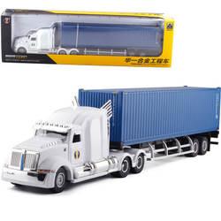 1:50 Die Cast модели автомобилей игрушки для Chldren Сплав Инженерная мобильный спортивный автомобиль mkd3 контейнеровоз в Цвет коробка