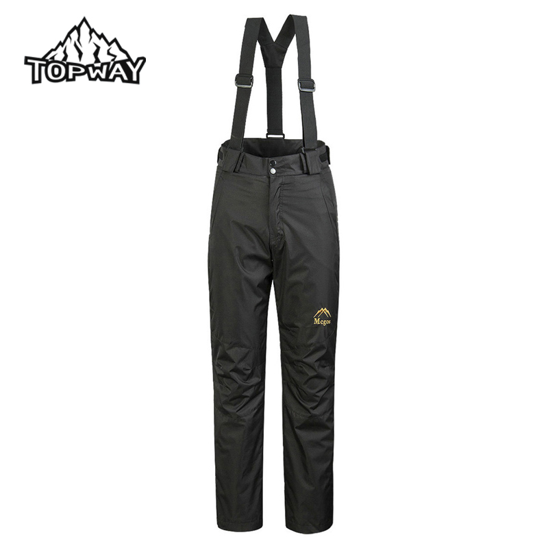 Outdoors Water Resistant Windproof Warm Overalls Snowboard 2in1 Women Pants Joggers Fleece Liner Removable Pantalones Mujer