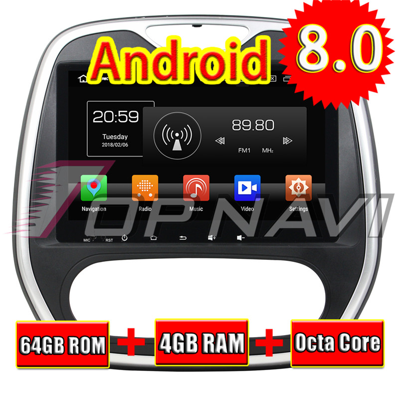 2din car radio For Renault Capture 2016 Auto